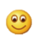 The WeChat smile emoticon